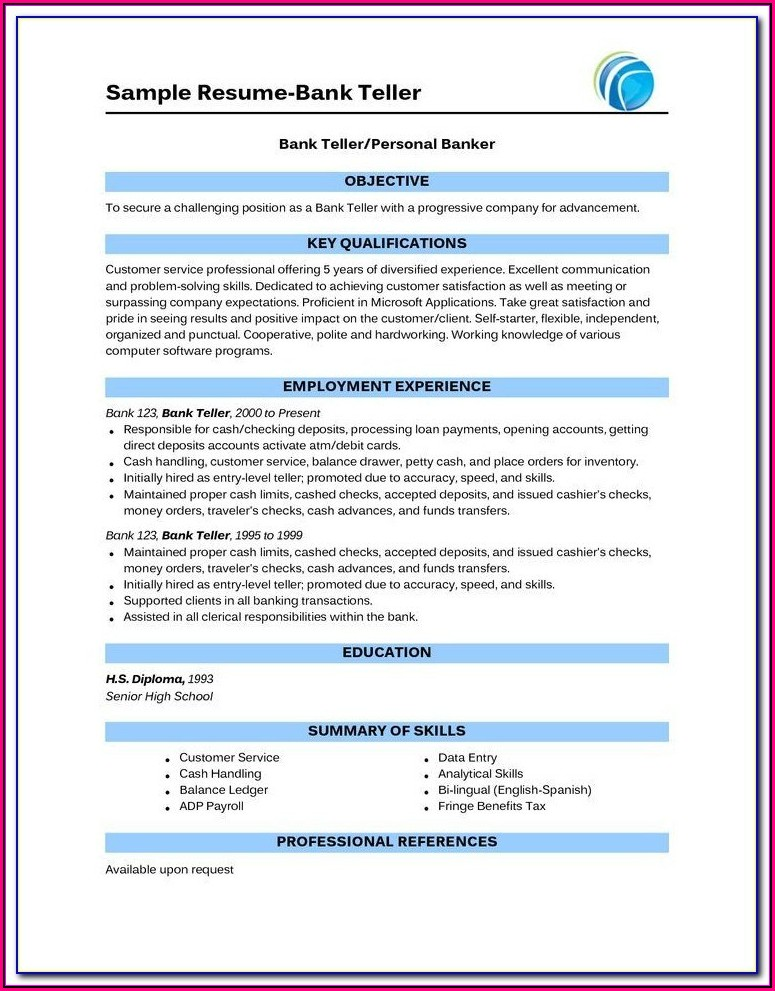 Online Resume Builder For Highschool Students