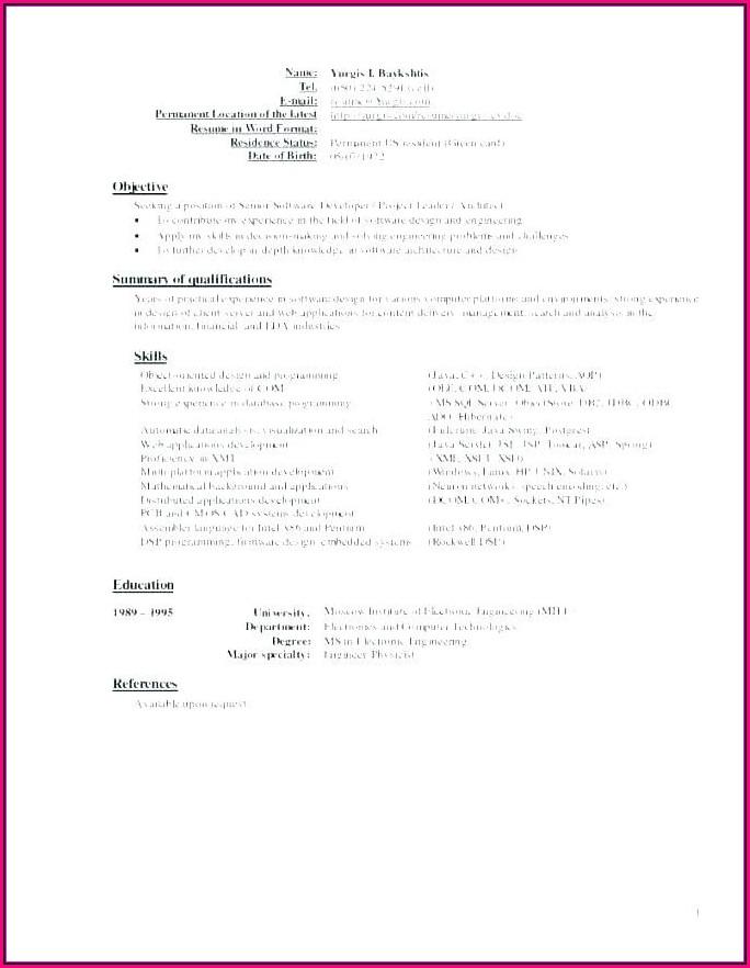Online Resume Builder Reviews