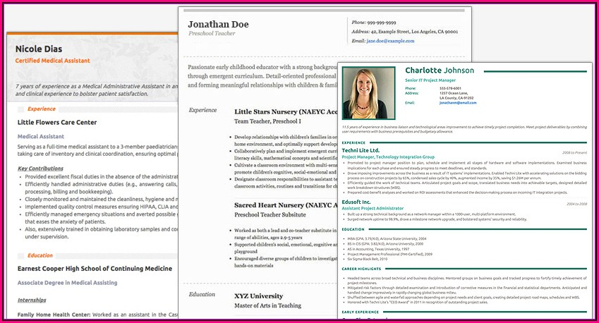 Online Resume Making Tools