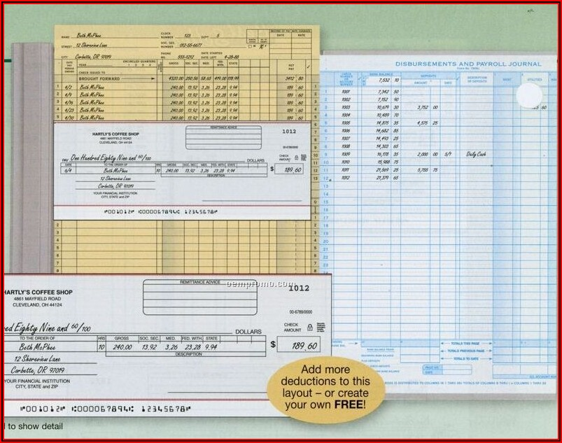 Payroll Receipt Form