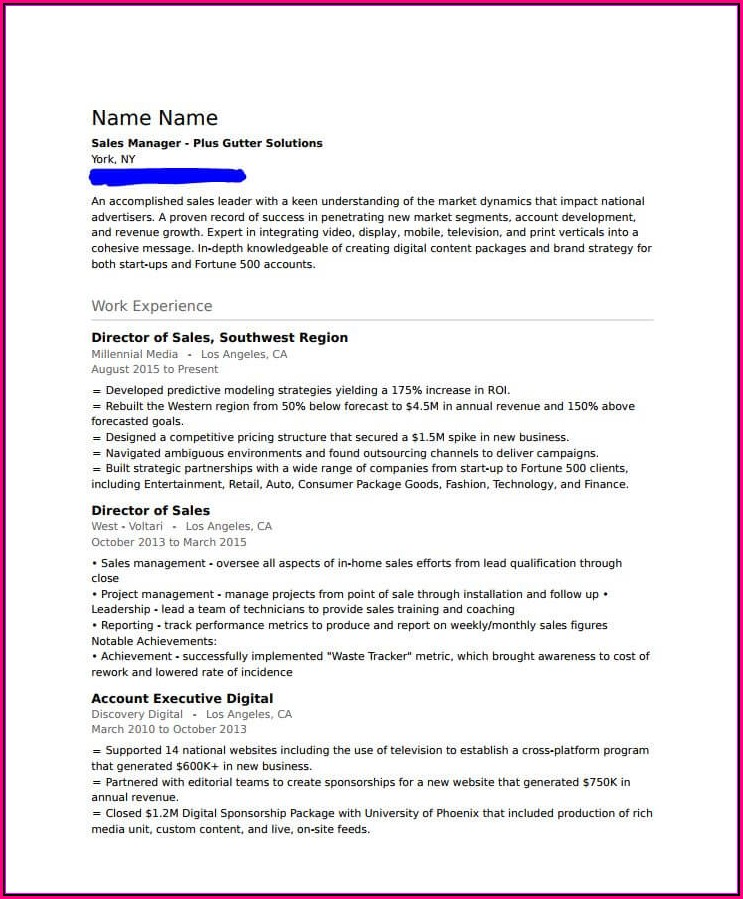 Print My Resume From Indeed