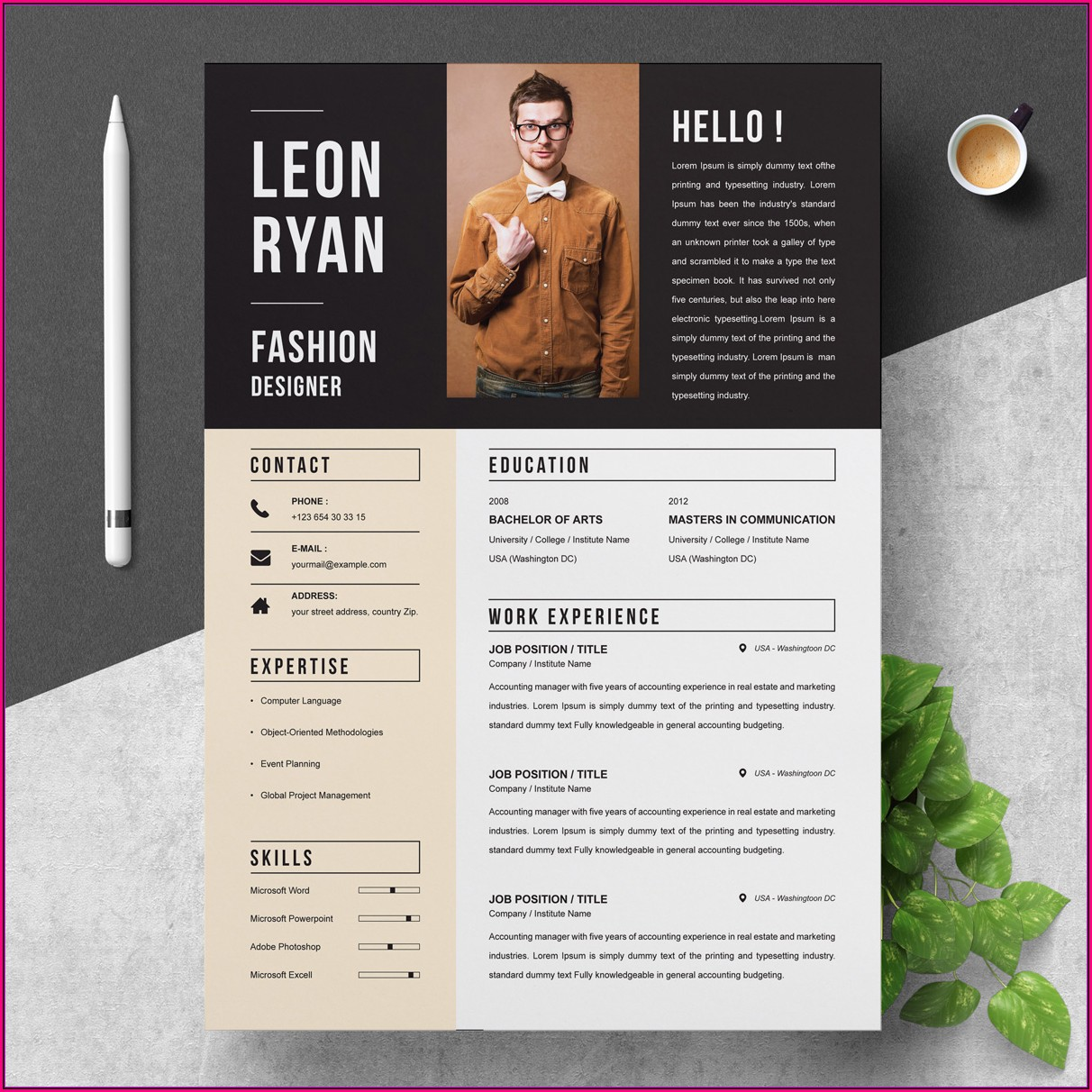 Professional Creative Cv Templates