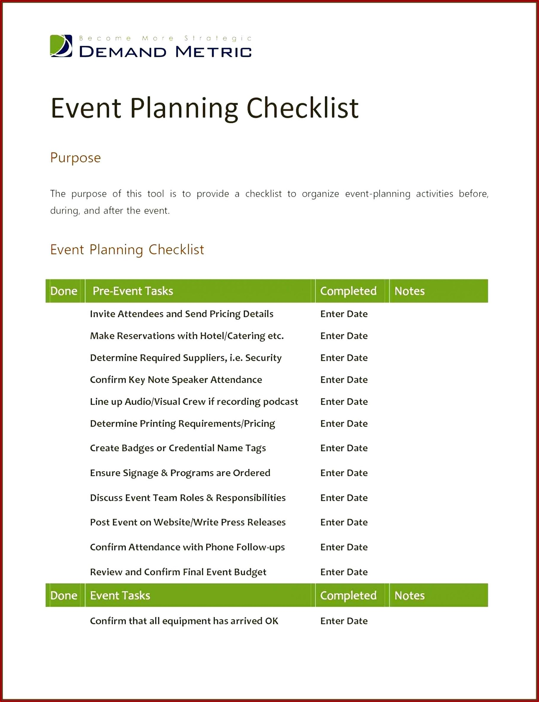 Provider Credentialing Checklist Template