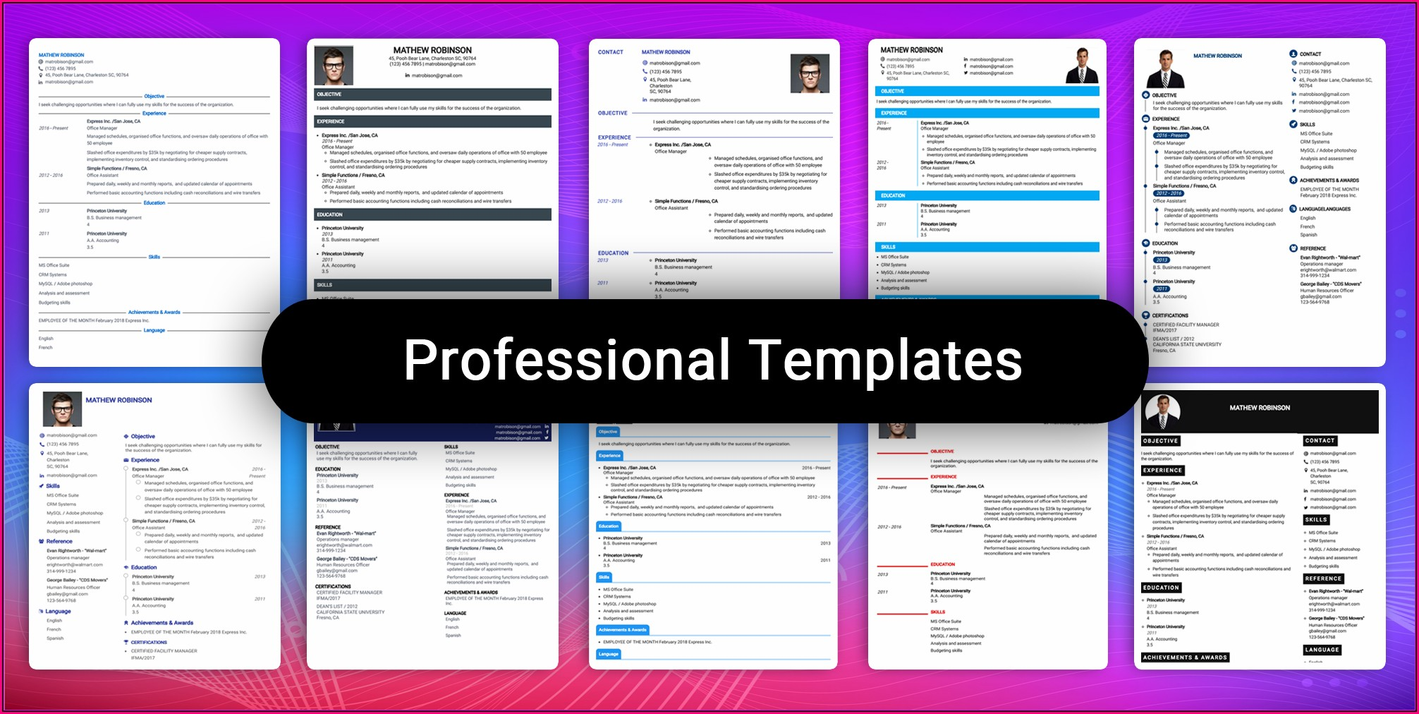 Resume Building Software Free Download
