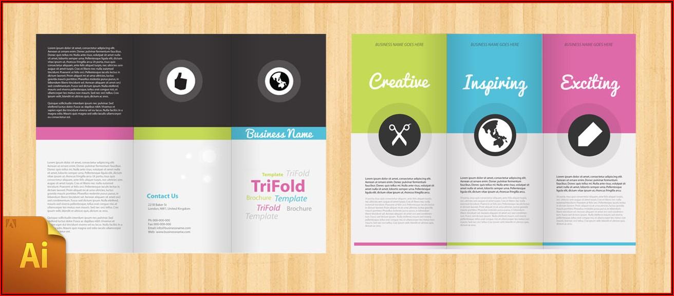 Tri Fold Brochure Free Templates