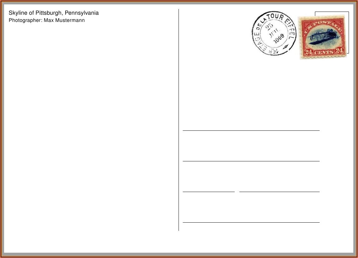 Eddm Postcard Format