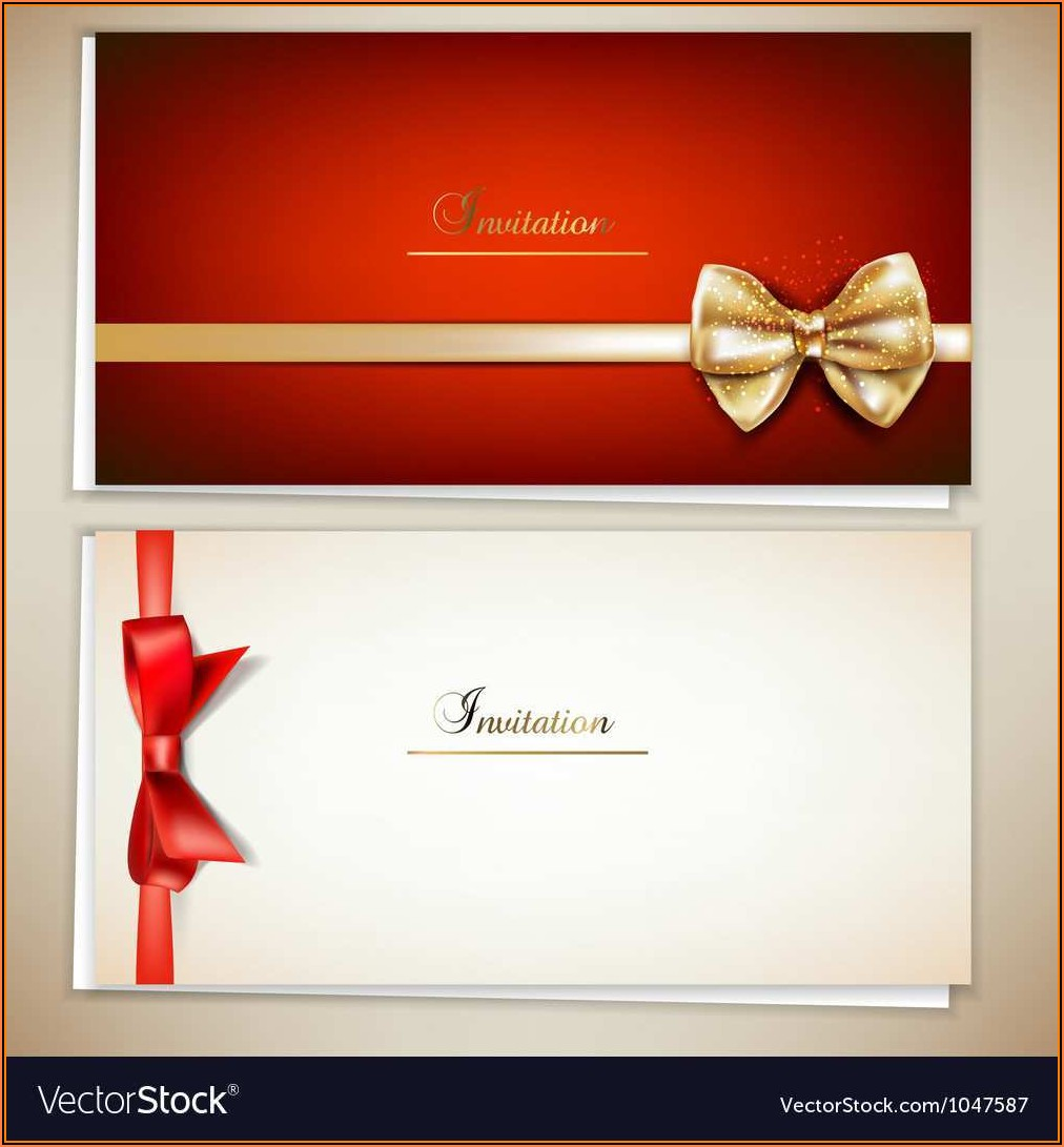 Elegant Invitation Template Free