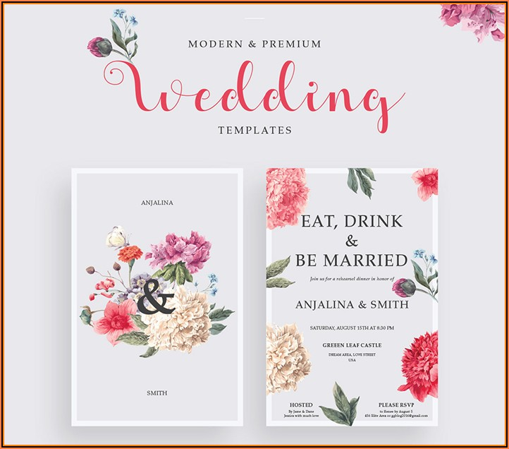 Elegant Invitation Templates Free Download