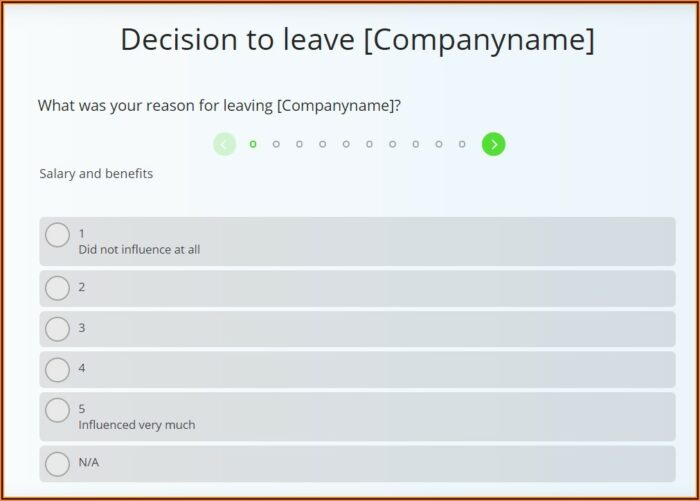 Employee Satisfaction Survey Template Uk