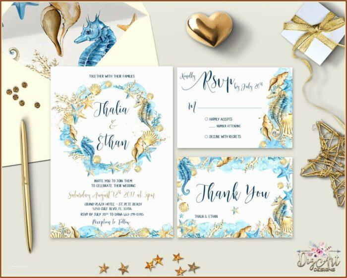 Etsy Free Wedding Invitation Templates