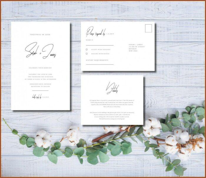 Etsy Wedding Invitation Templates