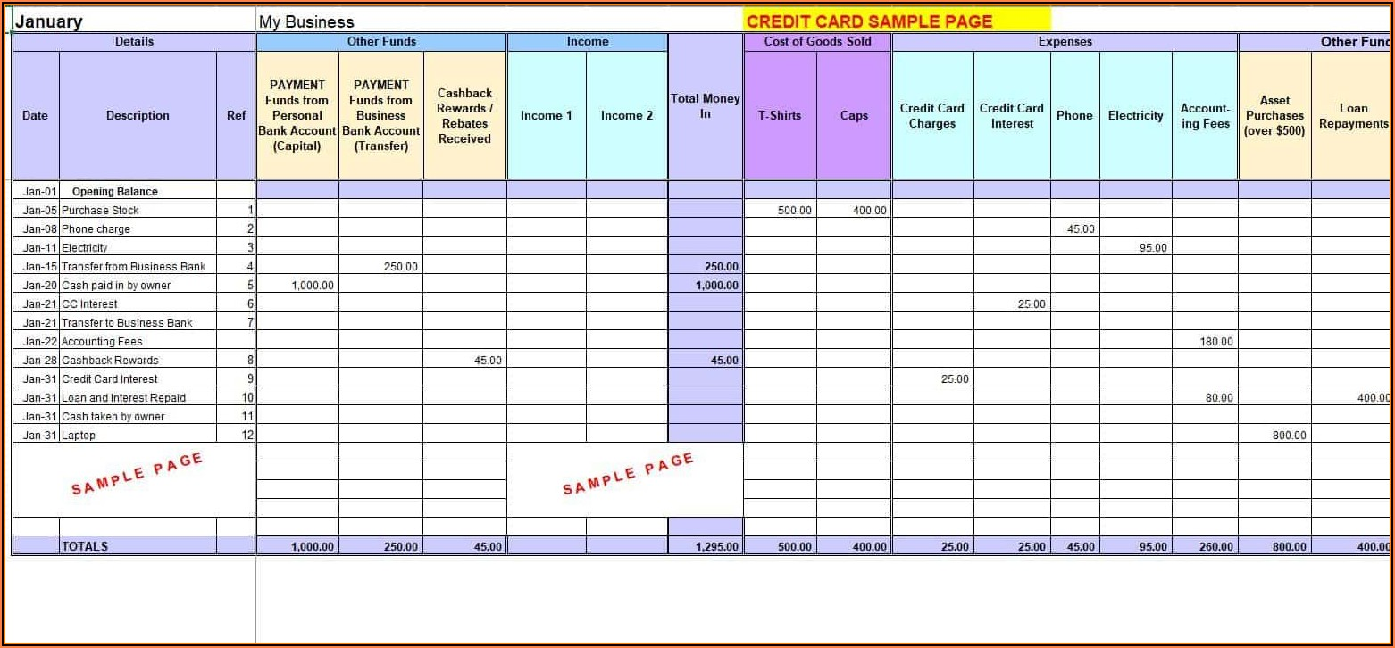 Excel 2007 Accounting Templates Free Download