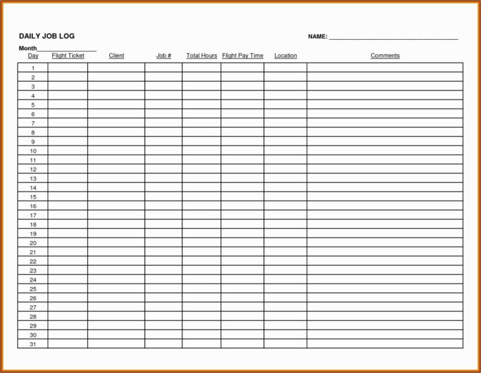Expense Tracker Excel Template Download