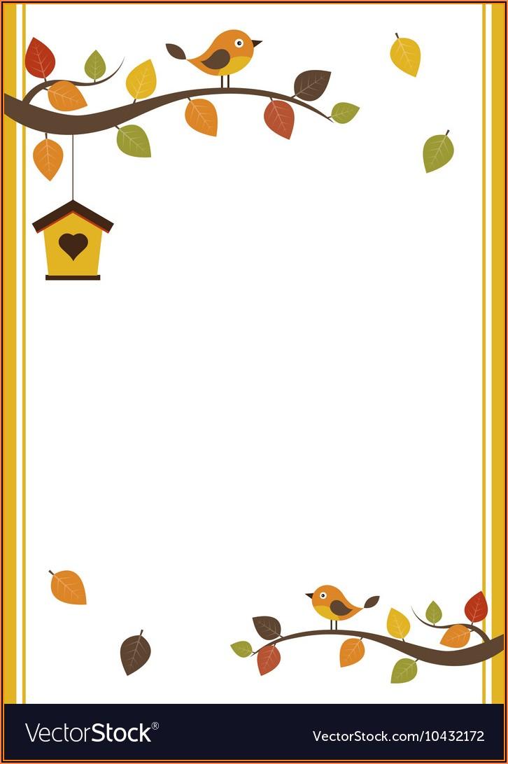 Fall Invitation Templates Free Download