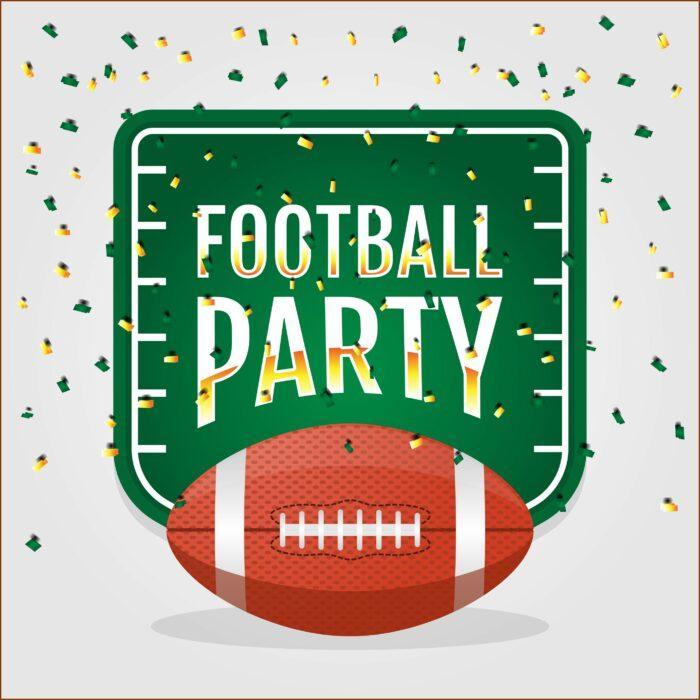 Football Party Invitation Free