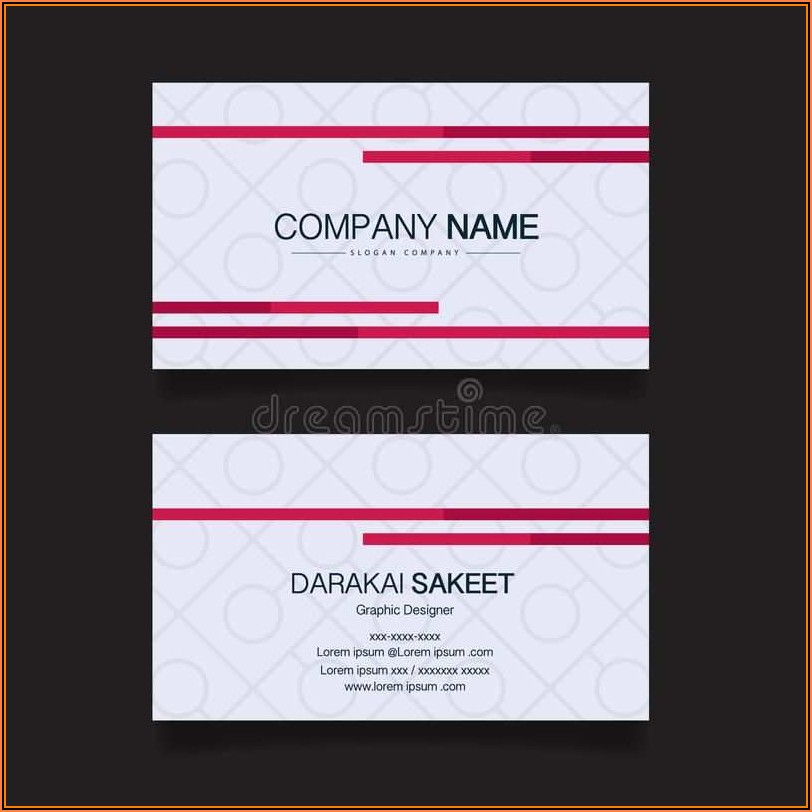 Free Avery Business Card Template 8376