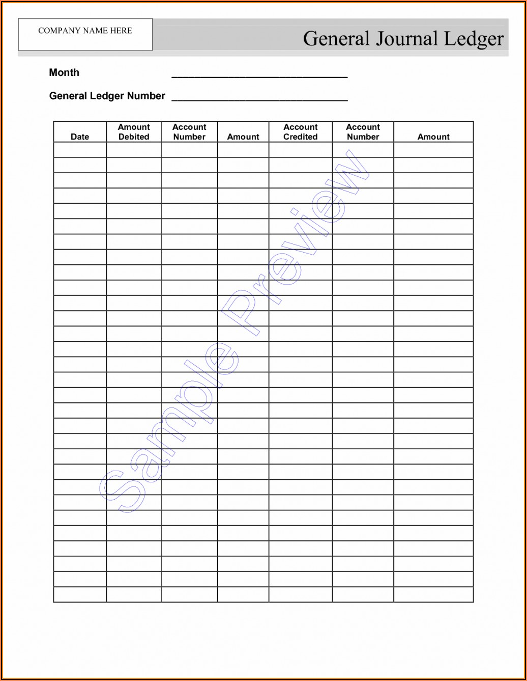 Free Bookkeeping Templates For Self Employed