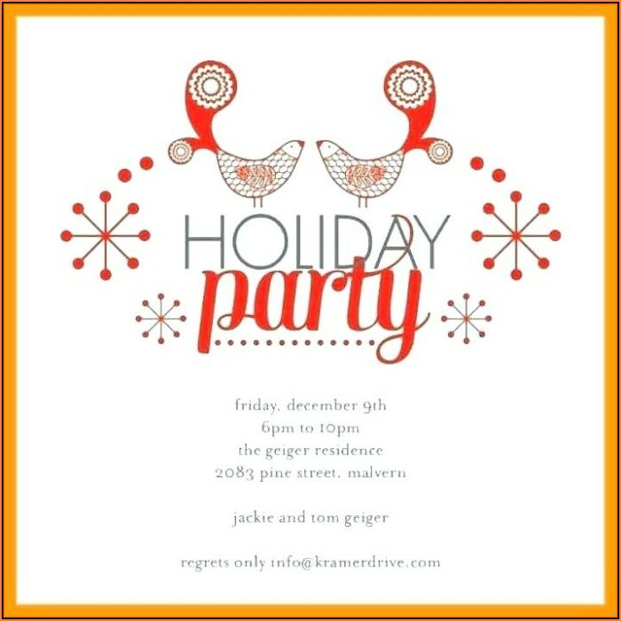 Free Dinner Invitation Templates For Word