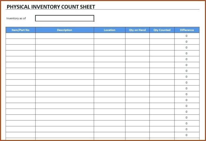 Free Excel Inventory And Sales Template For Retailers