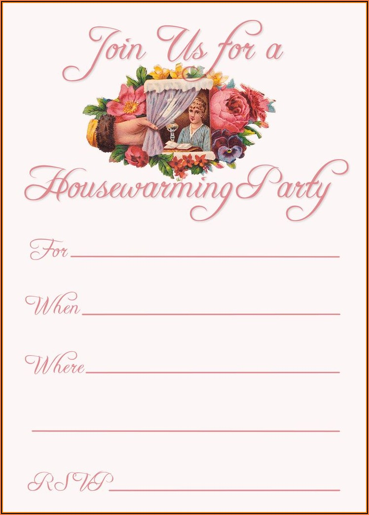 Free Housewarming Invitation Template Psd