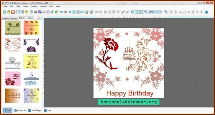 Free Invitation Card Template Online