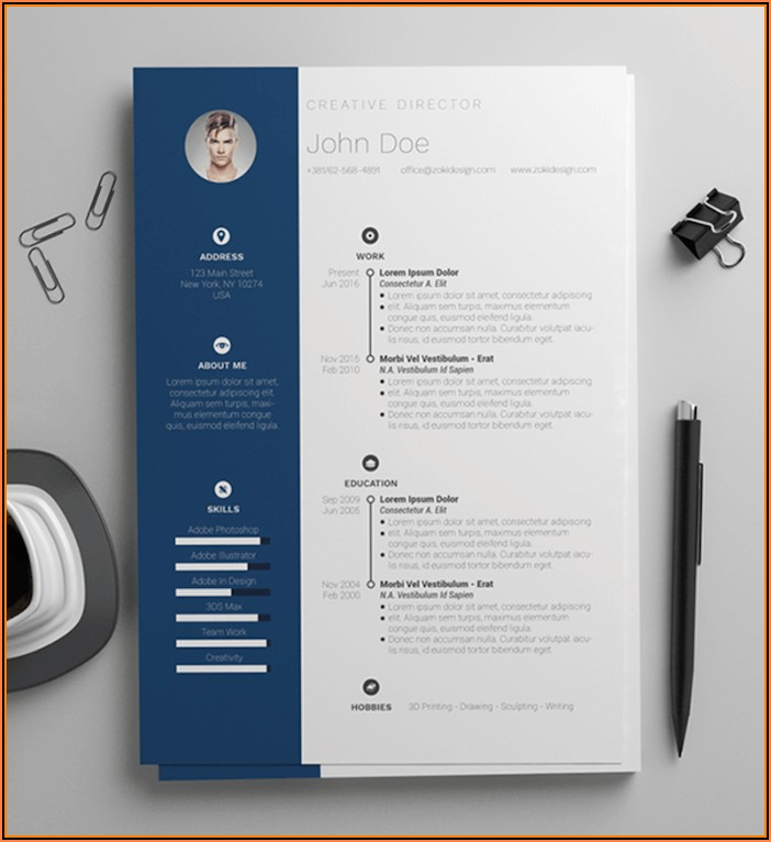 Free Ms Word Resume Templates 2018