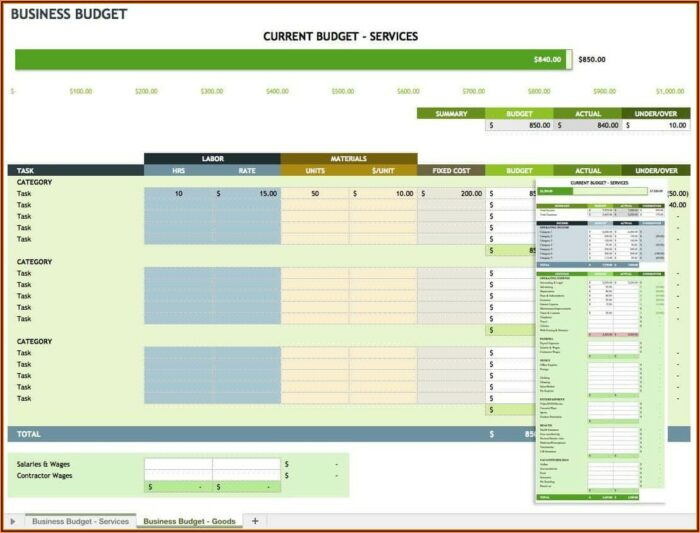 Free Personal Expense Tracker Excel Template