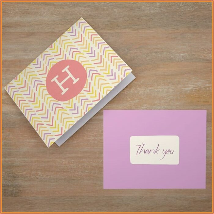 Free Personalized Note Card Template