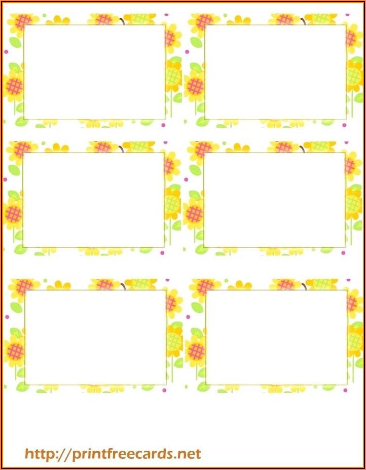 Free Printable Blank Gift Tag Templates