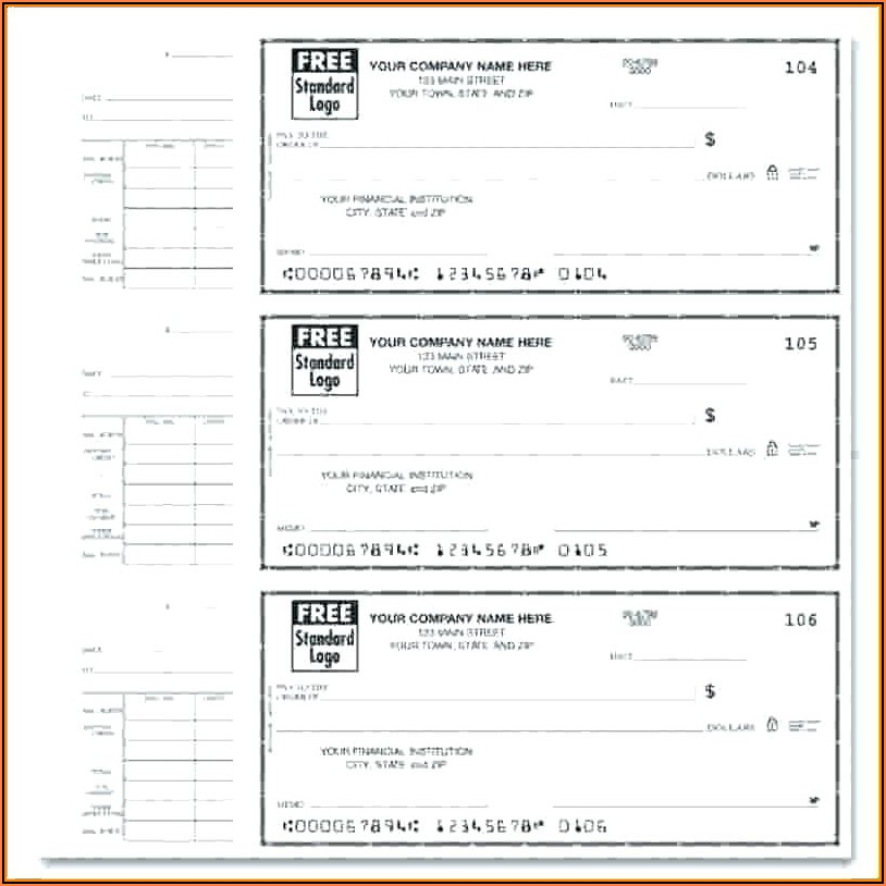 Free Printable Paycheck Stubs Template
