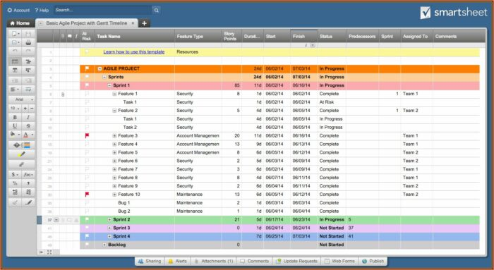 Free Project Plan Template Excel 2010