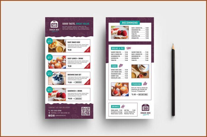 Free Rack Card Brochure Templates