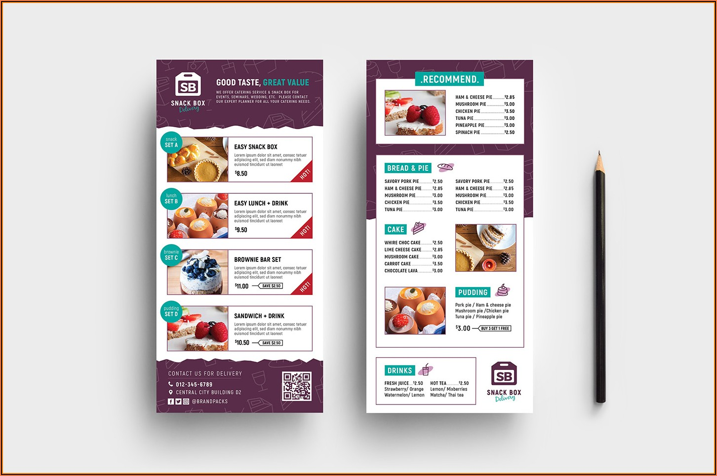 Free Rack Card Brochure Templates
