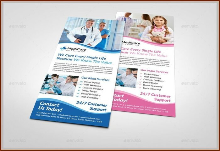 Free Rack Card Templates For Word