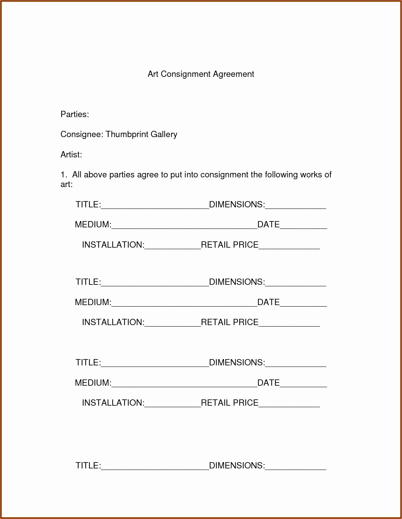 Freelance Makeup Artist Contract Templates