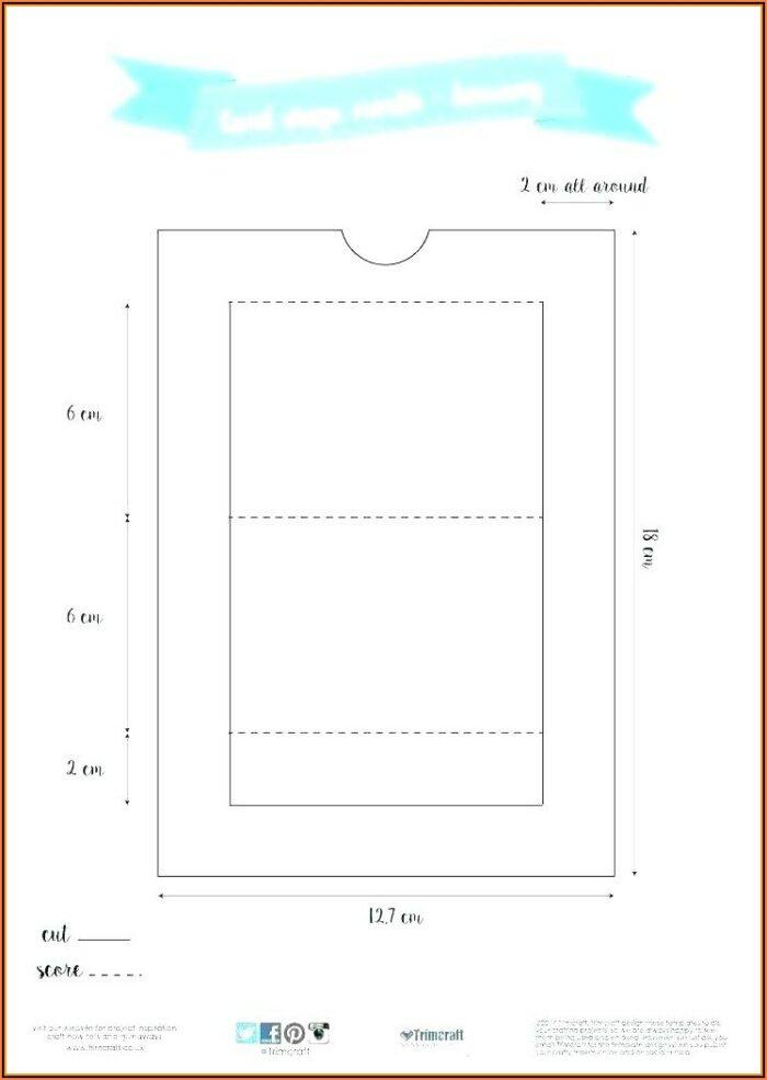 Hanging File Folder Tab Template
