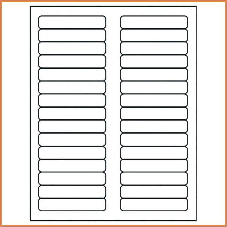 Hanging File Folder Tab Template Excel