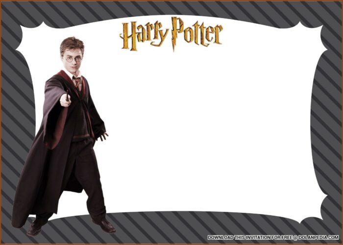Harry Potter Birthday Invitation Template Download