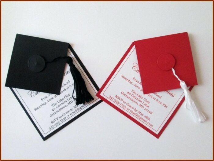 High School Graduation Party Invitation Templates