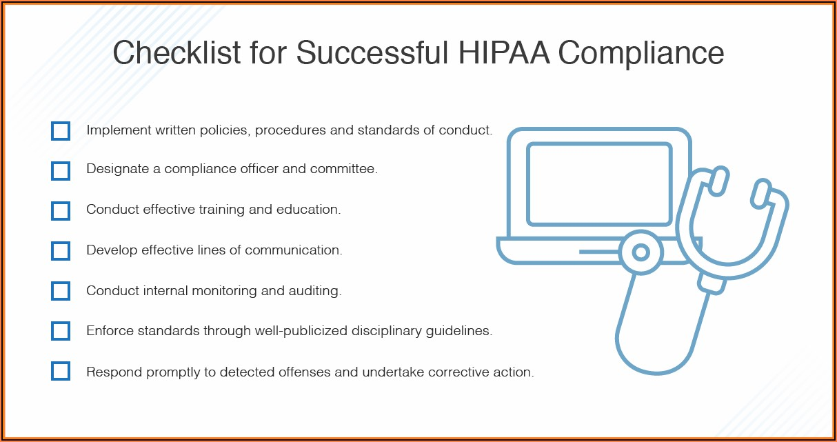 Hipaa Compliance Policy Template