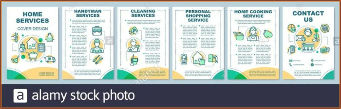 Home Cleaning Service Flyer Template