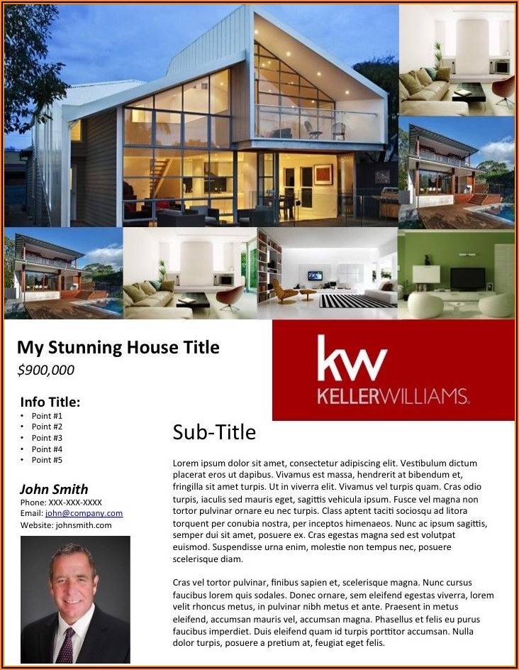 Home For Sale Flyer Example