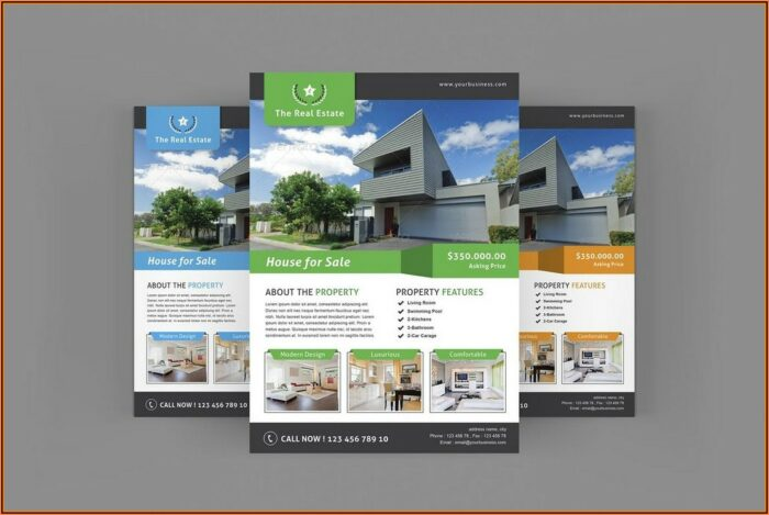 Home For Sale Flyer Template Microsoft