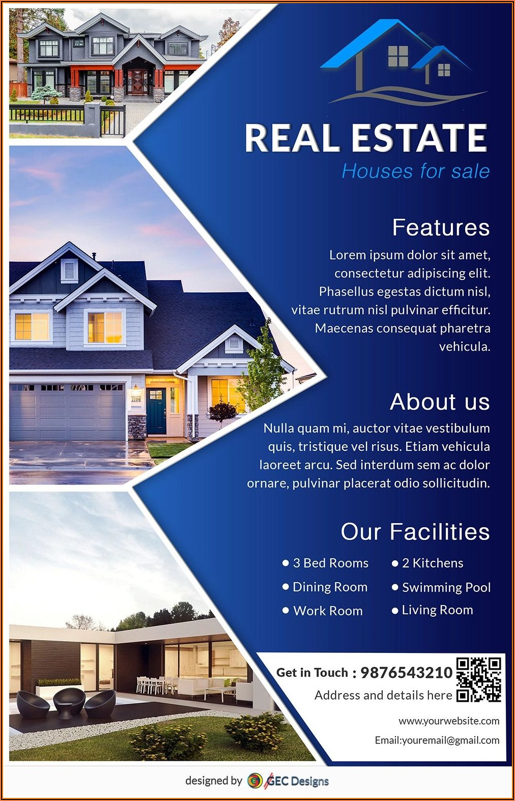 Home For Sale Flyer Template Microsoft Word