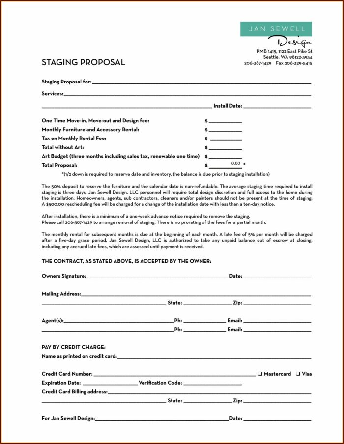 Home Improvement Contract Template Ny