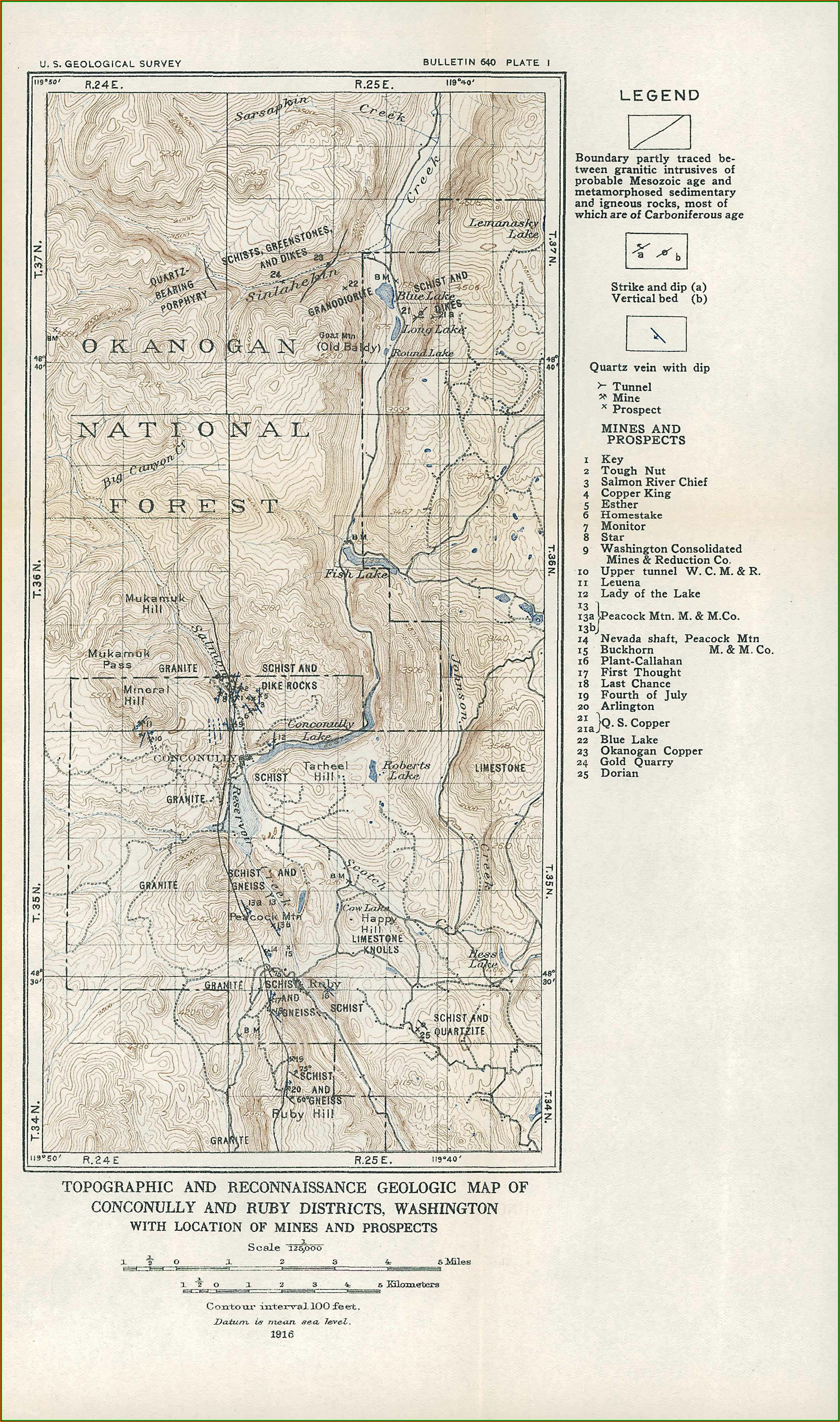 Hunting Maps Washington State