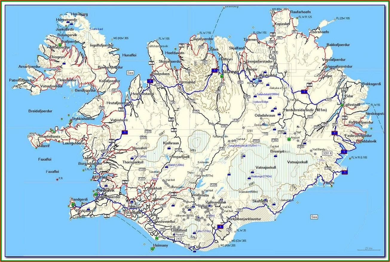 Iceland Garmin Maps
