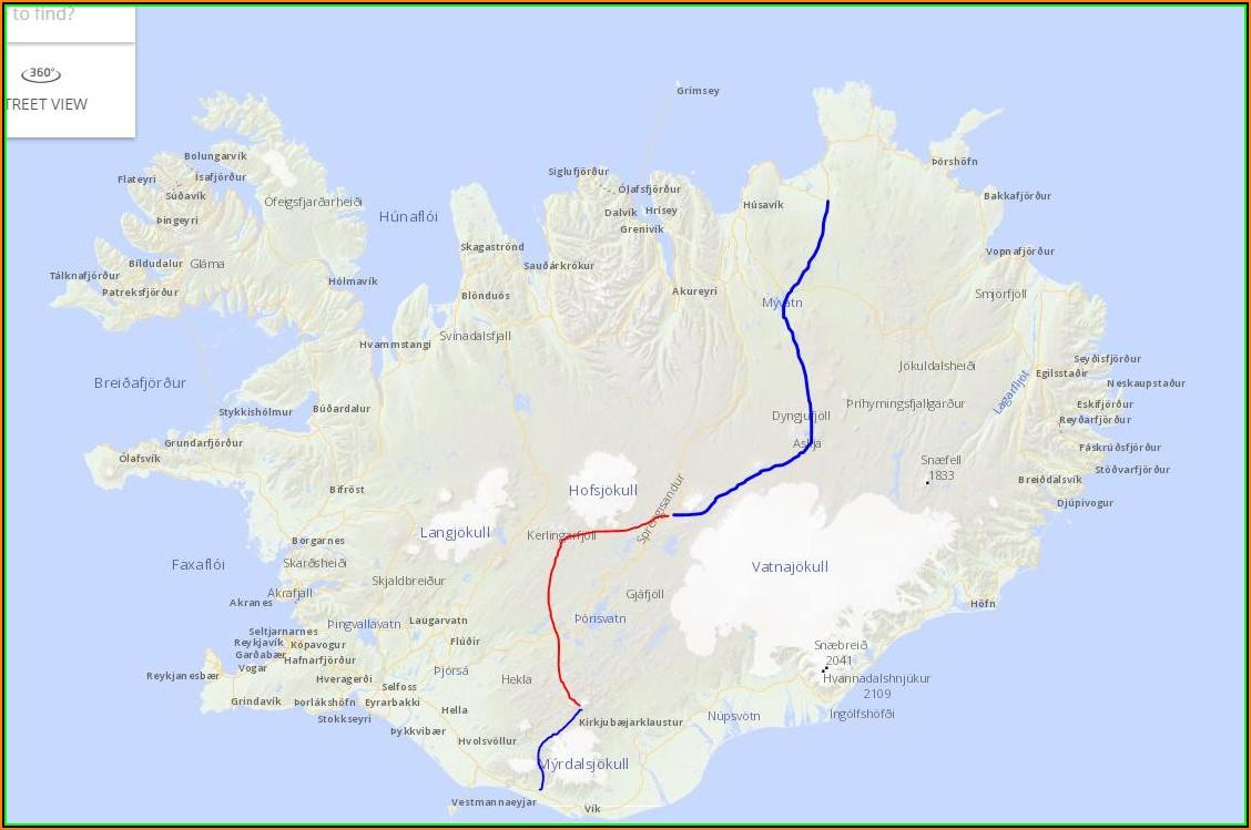 Iceland Topo Map Garmin