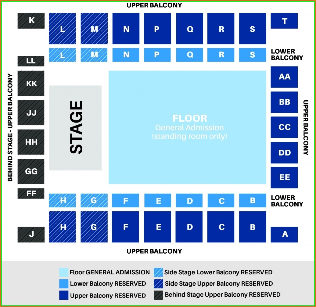 Knoxville Civic Auditorium Seating Chart View