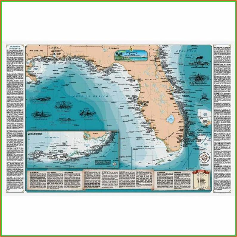 Map Of Florida Gulf Coastline